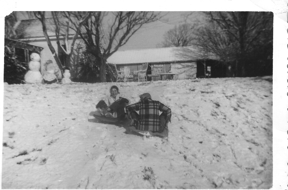 Fun times at Big Mill in the fifties | In the south if it snows we make Snow Cream-here's how to do that | https://chloesblog.bigmill.com/snow-cream/