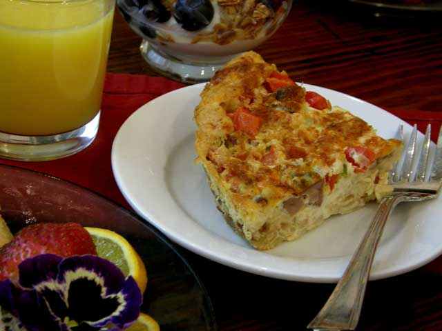 Eastern North Carolina B&B recipes