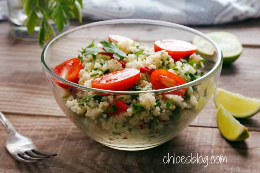 Couscous Salad photo from Big Mill BB