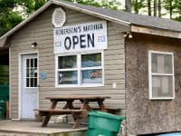 Gardner's Creek Marina in Eastern North Carolina |https://chloesblog.bigmill.com/roanoke-river-rock-fish-stew-recipe/