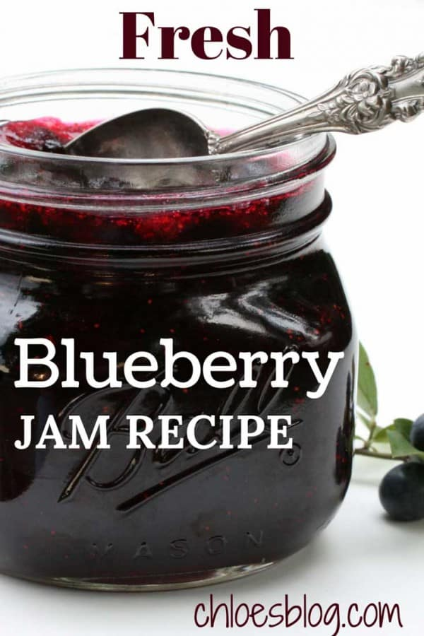 photo of Chloe's Blueberry Jam down on the farm