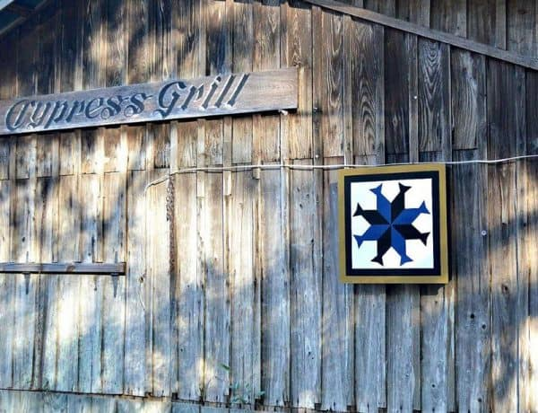 Cypress Grill - old time fishing shack in eastern NC | https://chloesblog.bigmill.com/road-food-north-carolina/