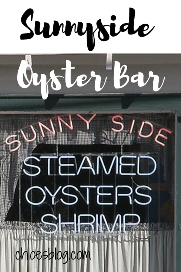 Sunnyside Oyster Bar in Eastern North Carolina