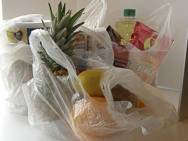 Plastic bags are everywhere. At Big Mil BB we take our re-usable bags to grocers