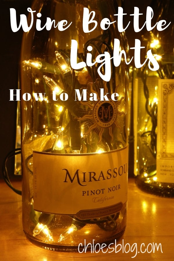Light up with Wine Bottles