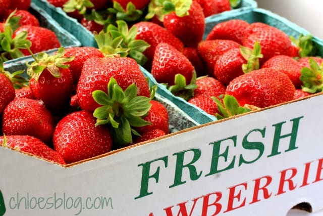 You pick strawberries make great jam for Big Mill guests | chloesblog.com