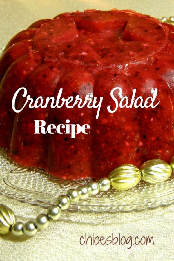 Cranberry Salad recipe will wow your guests