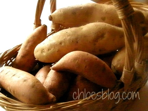 Sweet potato recipe from Chloe Tuttle innkeeper in North Carolina | chloesblog.com