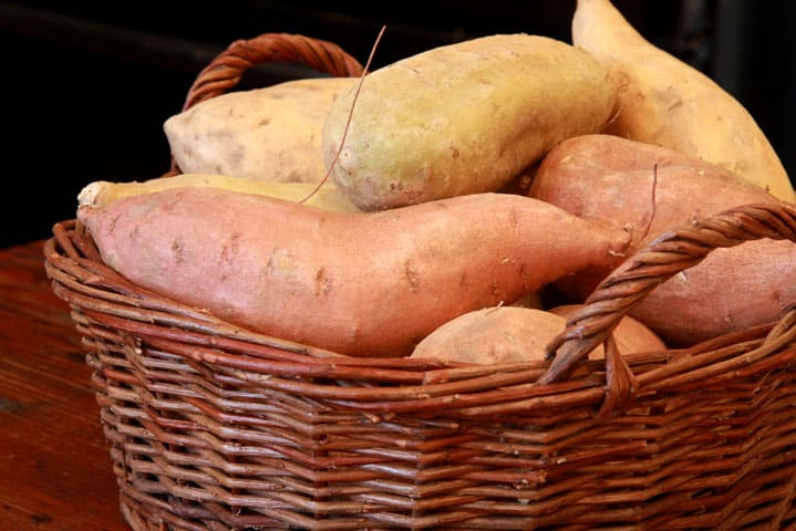 Recipe for North Carolina Sweet potatoes - they're good for you