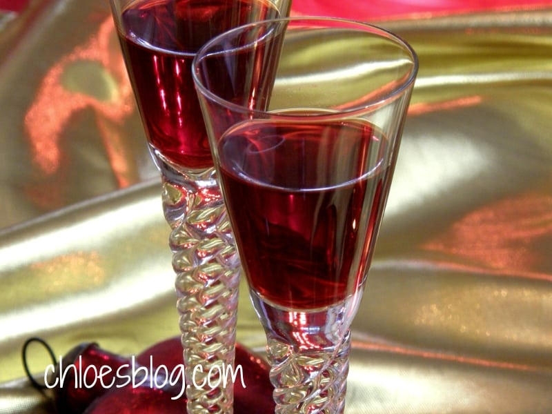 Cranberry Liqueur photo from Chloe's Blog at Big Mill BB