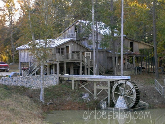Old grist mill in North Carolina