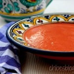 Gazpacho - fresh tomatoes for refreshing summer taste