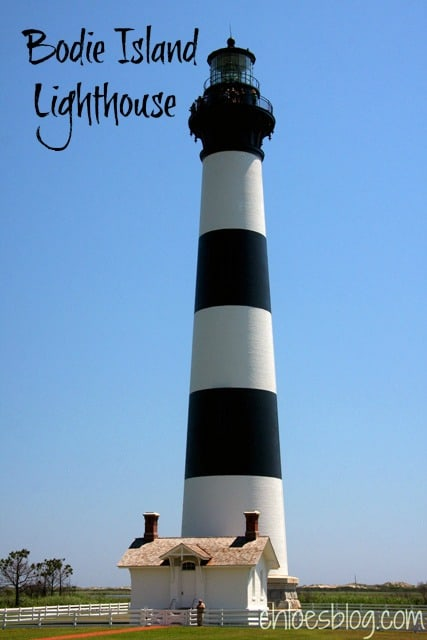 Bodie Island Lighthouse in coastal North Carolina has quite a history. Read more on Chloe's Blog about the highlights - @BigMill | www.chloesblog.bigmill.com/bodie-island-lighthouse