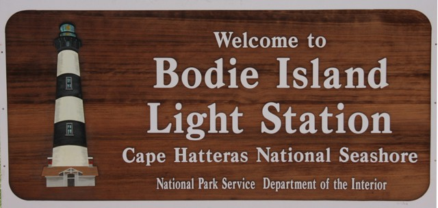 Bodie Island Lighthouse Cape Hatteras National Seashore | View of Atlantic Ocean from top of Bodie Island Lighthouse - NC Outer Banks. Read more about the fascinating history of Bodie Island Lighthouse on www.Chloes Blog | Tip top of Bodie Island Lighthouse near Oregon Inlet, on North Carolina's Outer Banks. Fascinating history - read more on chloesblog.com | www.chloesblog.bigmill.com/bodie-island-lighthouse