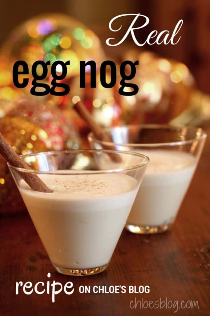 Homemade Eggnog Photo from Big Mill B&B