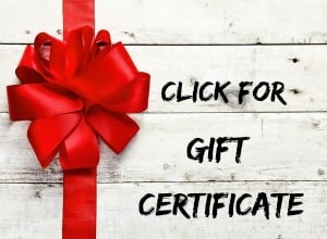 Gift Certificate at Big Mill B&B near Greenville NC