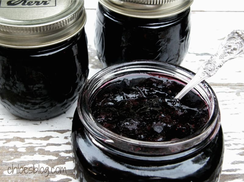 Blueberry Jam made from Fresh Berries