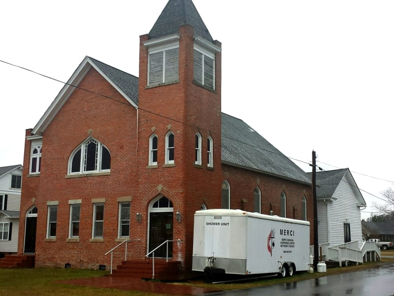 Church moved by the Hand of God in Hyde County, NC. This is a story so unbelievable, even Snopes had to verify it is authentic. Read more on Chloe''s Blog. | https://chloesblog.bigmill.com/the-church-moved-by-the-hand-of-god