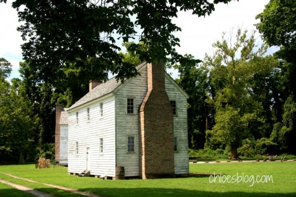 Slave house at Somerset Place, Creswell, NC | https://chloesblog.bigmill.com/somerset-place-plantation/