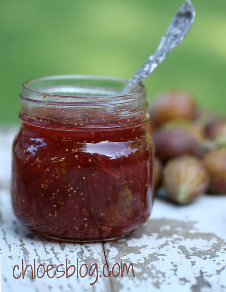 Fig Jam with Less Sugar