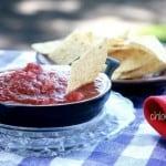 Homemade Salsa recipe from innkeeper at Big Mill BB | https://chloesblog.bigmill.com/barneys-killer-salsa/