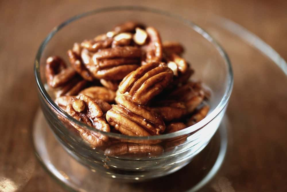 Honey Roasted Pecans from Trees at Big Mill B and B in eastern NC