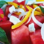 Watermelon Salad is the perfect summer treat