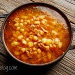 Pozole Hominy Soup Photo