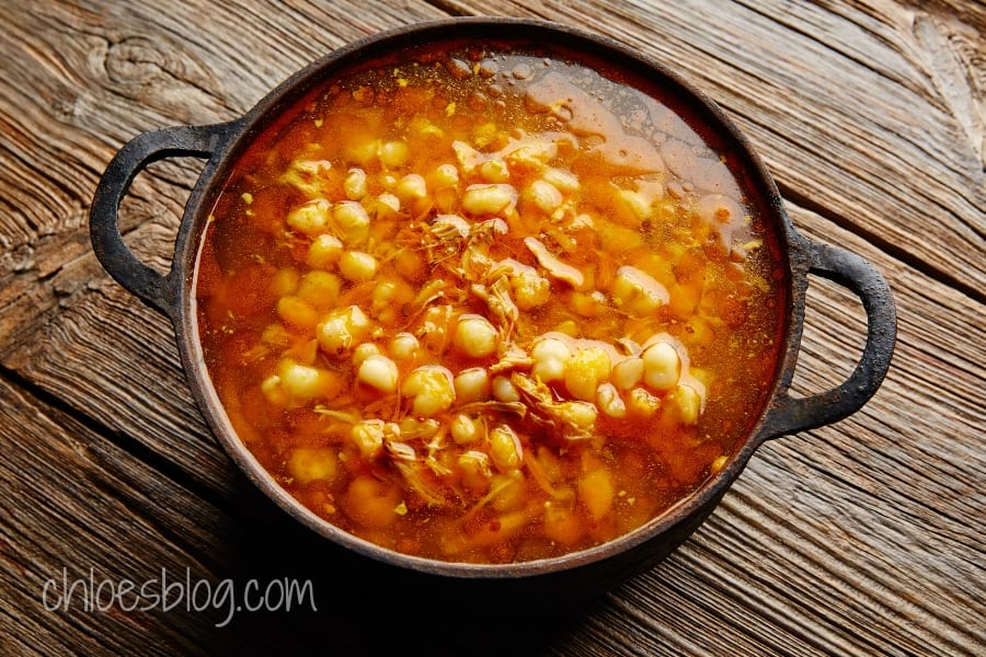 Pozole – Mexican Hominy Soup Recipe - a Gringo Version