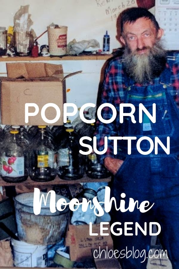 Popcorn Sutton, a Moonshiner extraordinaire was indeed a legend. He spent his life dodging the revenuers and was a master at his trade - making bootleg liquor.