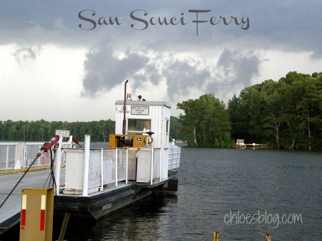 Sans Souci Ferry on the Cashie River in eastern North Carolina | chloesblog.com
