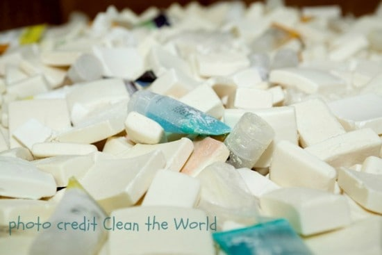 Recyling soap at Clean the World, a Big Mill B an B partner | chloesblog.bigmill.com/recycle-soap/
