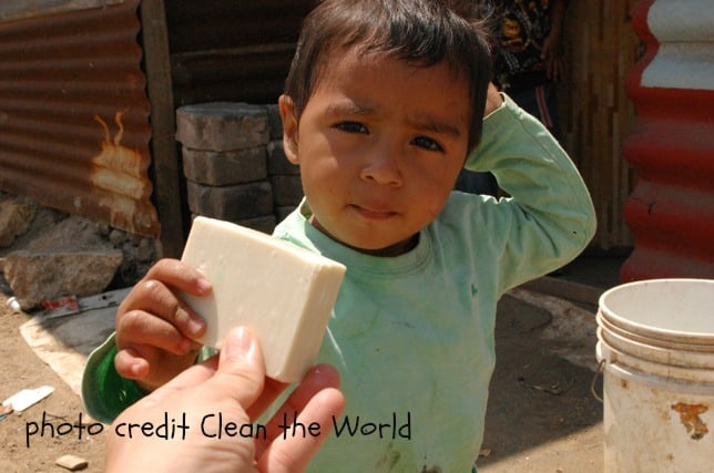 Big Mill recycles soap through Clean the World | chloesblog.bigmill.com/recycle-soap/