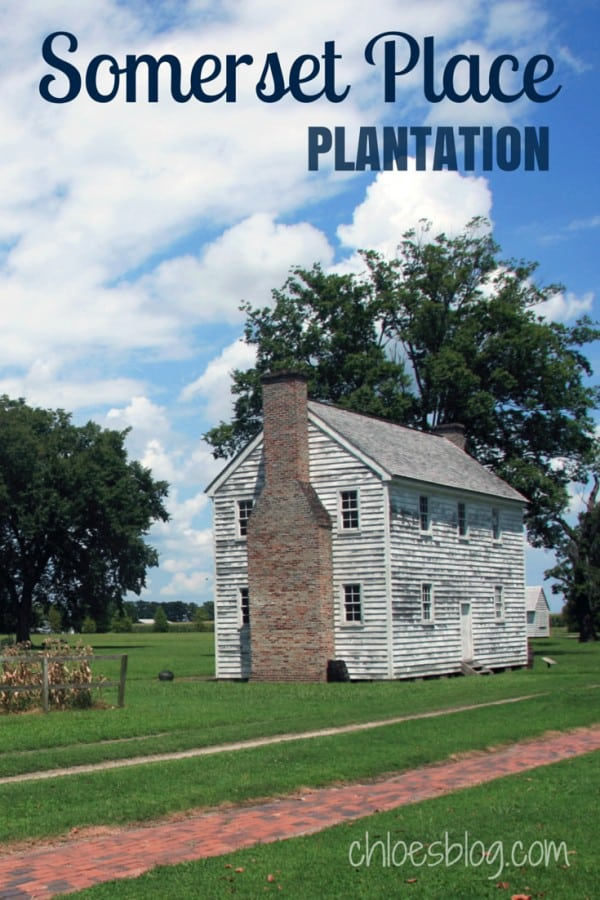 Touring the grounds, mansion and slave houses at Somerset Place Plantation in eastern NC will give you a rich sense of North Carolina | https://chloesblog.bigmill.com/somerset-place-plantation/