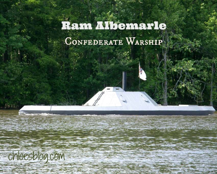 Did you know that this Confederate ironclad warship -- the Ram Albemarle -- was most important ship of the Civil War? There are some fascinating facts about this warship in blog article. | chloeblog.com