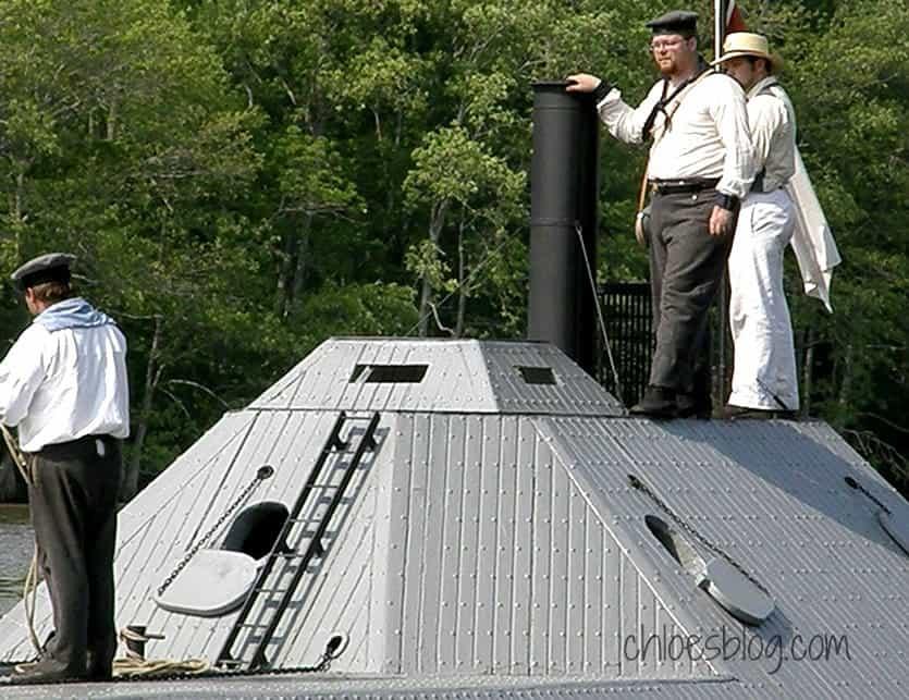 CSS Ram Albemarle Battle of Plymouth in Eastern NC | chloesblog.com