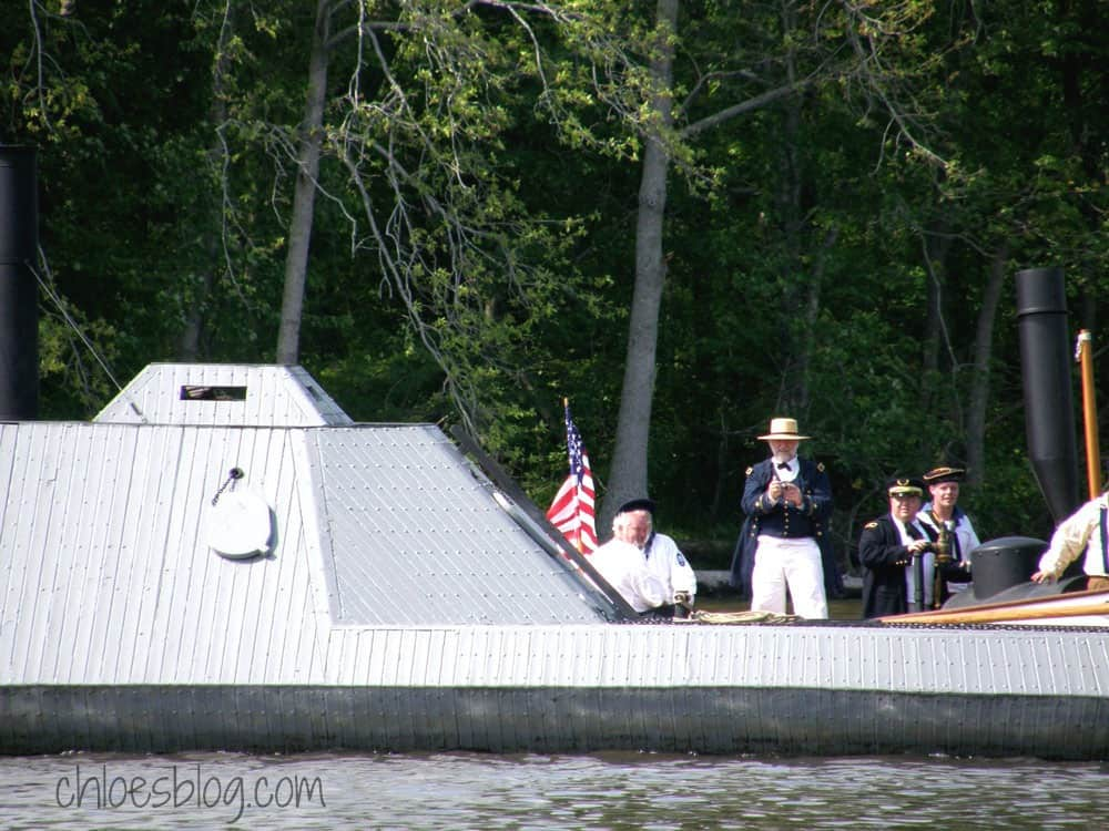 Ironclad CSS Ram Albemarle on the Roanoke River Plymouth, NC | chloesblog.com