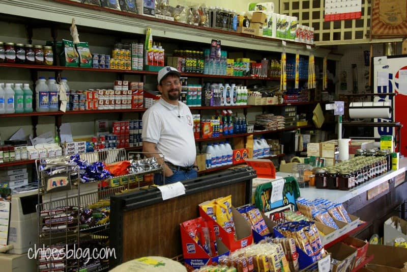 Martin Supply in Williamston, NC sells local Molasses & Honey in pint and quart jars and you're sure to see an Old Farmer's Almanac there at the counter too. | chloesblog.com