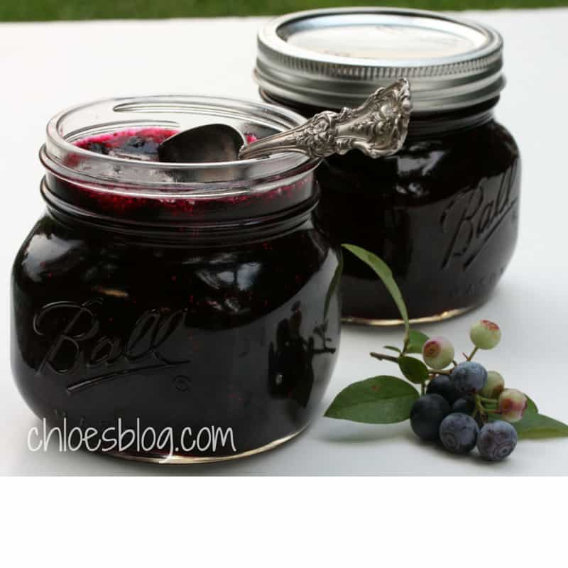 Easy Blueberry Jam is made with fresh blueberries and a touch of cinnamon