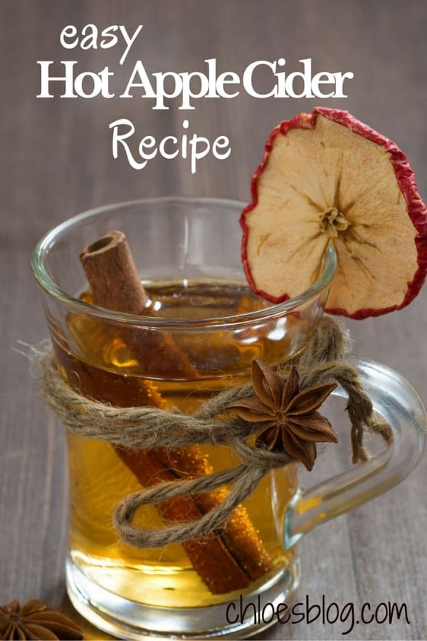 Hot apple cider is the perfect beverage for cool days and holiday parties Easy, inexpensive recipe guaranteed to please your guests. @bigmill | https://chloesblog.bigmill.com/spiced-mulled-cider-recipe