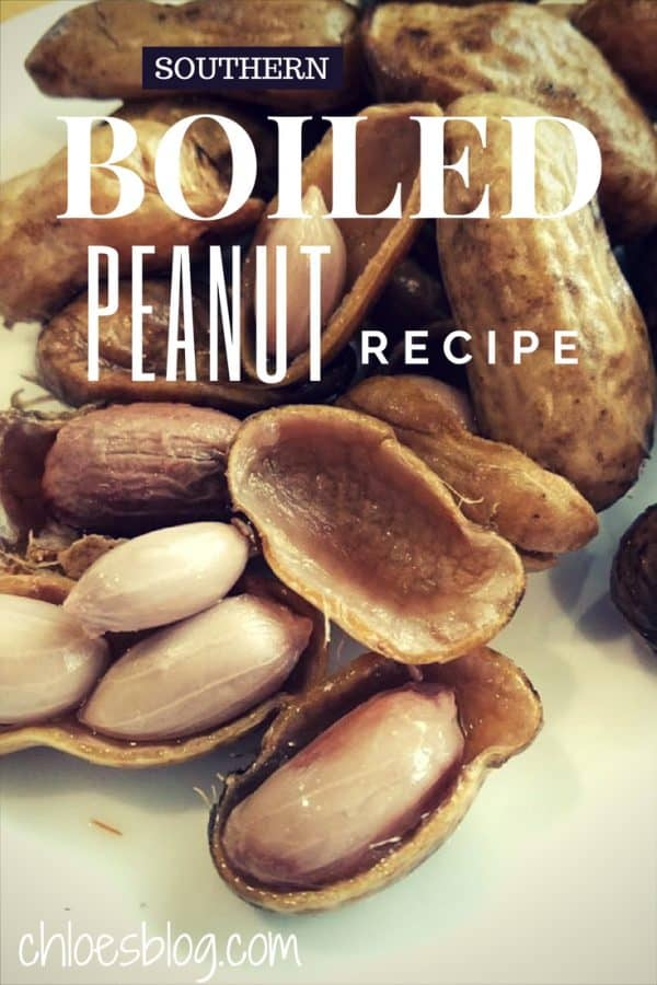 Southern Boiled Peanut Recipe from southern innkeeper Chloe Tuttle at BIg Mill B&B lodging in Eastern NC near Greenville NC