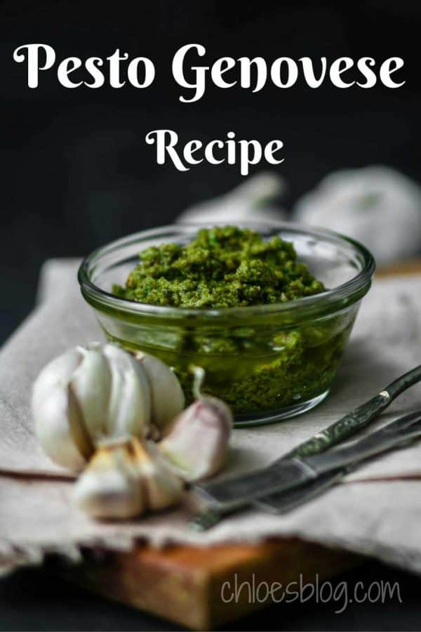 Pesto Genovese from Craig Clairbornes NY Times Cookbook is the best |
