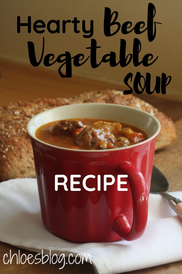 Beef Vegetable Soup photo by Chloe Tuttle