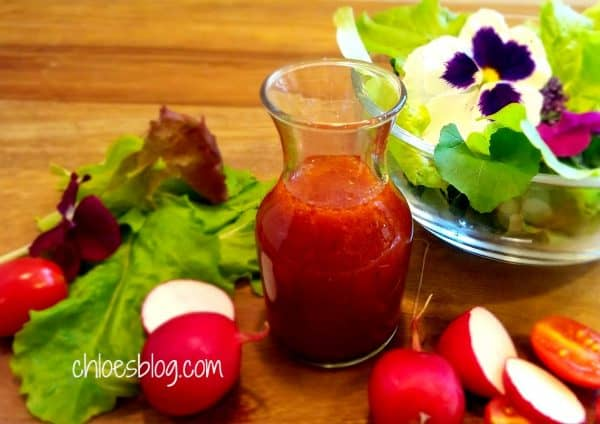 Sweet tart salad dressing photo