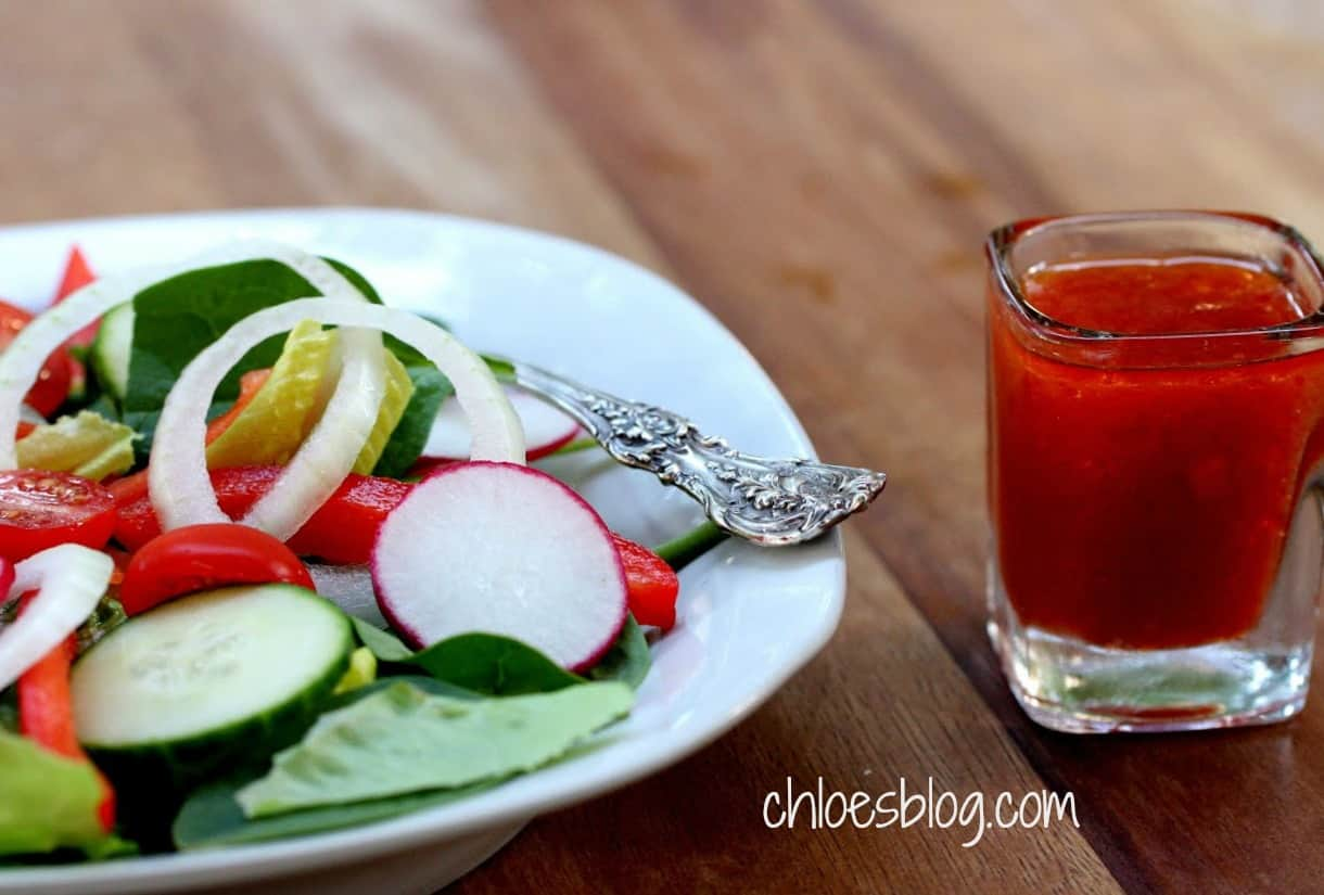 Sweet-tart French dressing photo from Chloes Blog