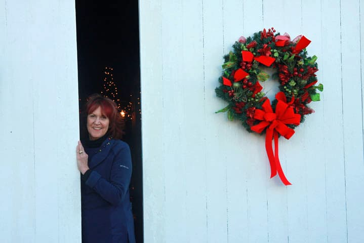 Chloe Tuttle Innkeeper says Happy Holidays from Eastern NC Bed and Breakfast | https://chloesblog.bigmill.com/intimate-weddings-at-big-mill/