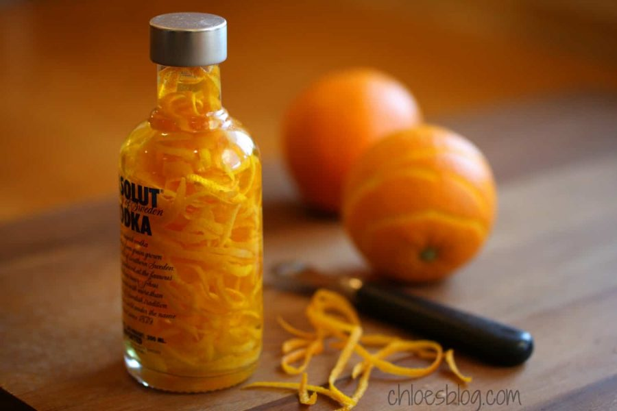 Orange Extract easy to make and perfect gift
