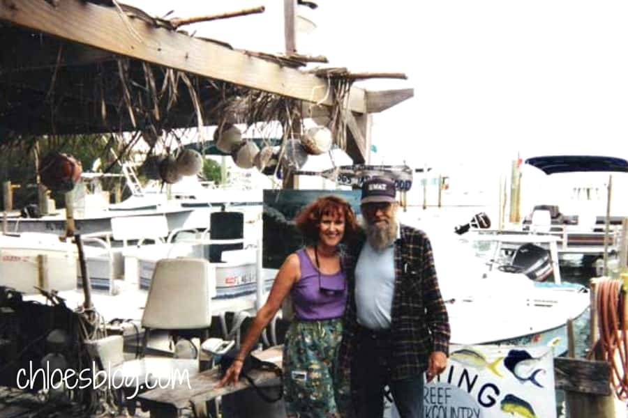 Chloe Tuttle and Ed Gavit photo at Robbies in Keys photo