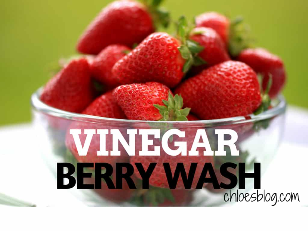 Berry Wash Recipe