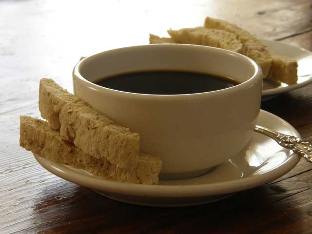 Recipe for Almond Biscotti served at Big Mill, a North Carolina Bed & Breakfast